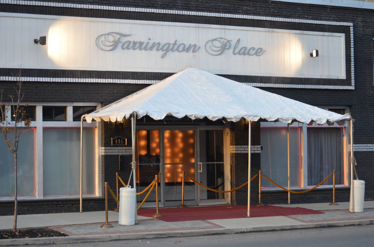 front of farrington place