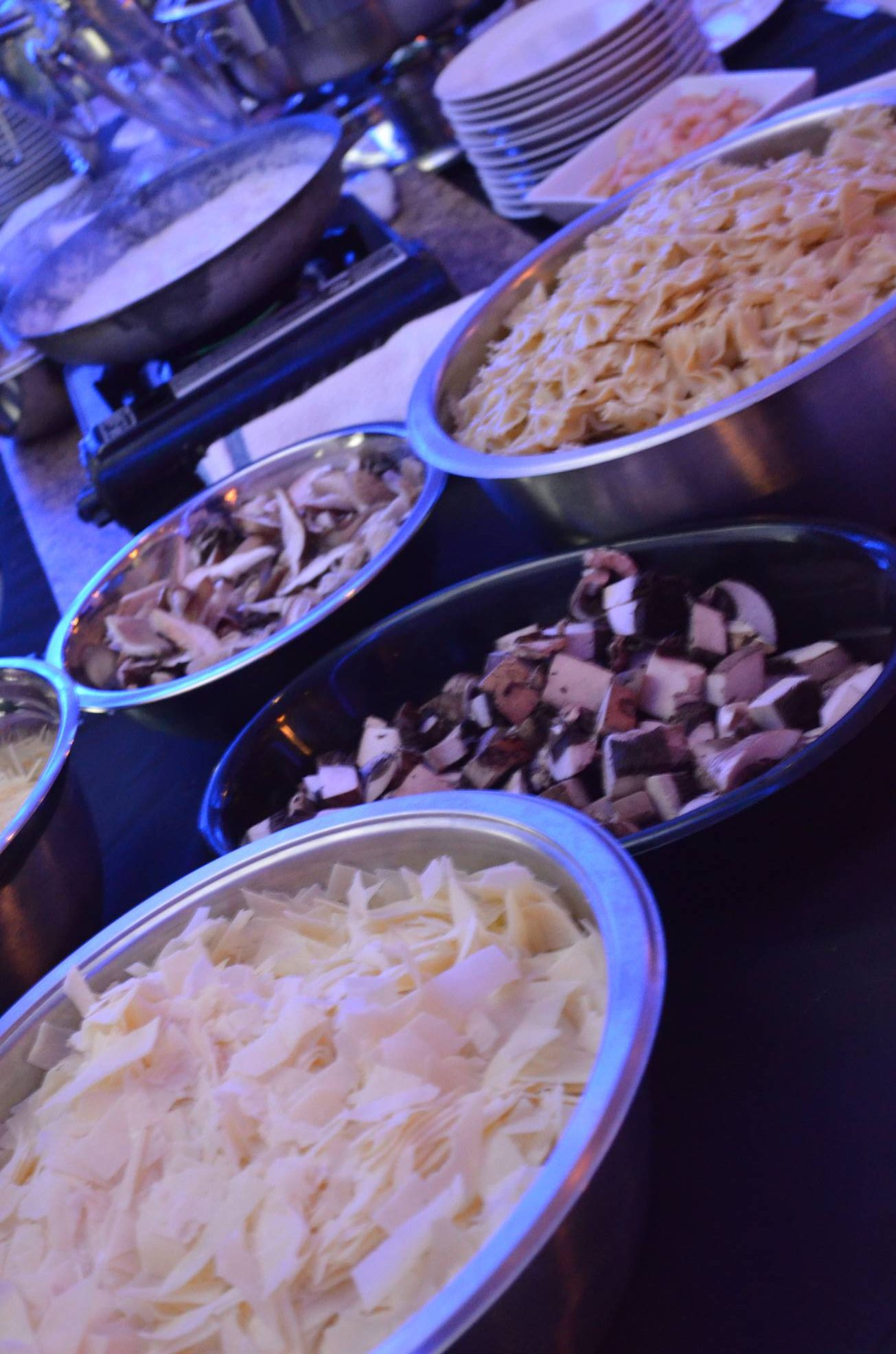 pasta menu