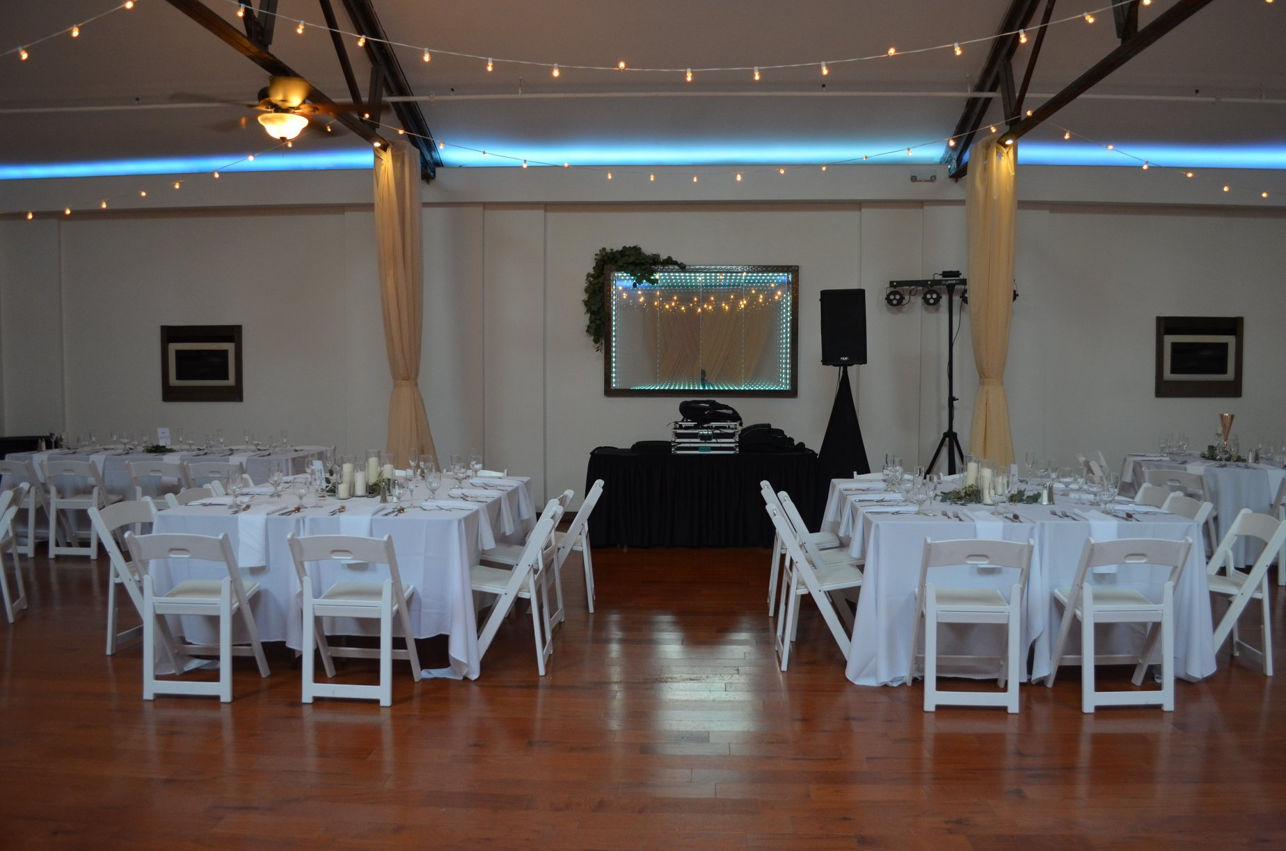 banquet room small setup