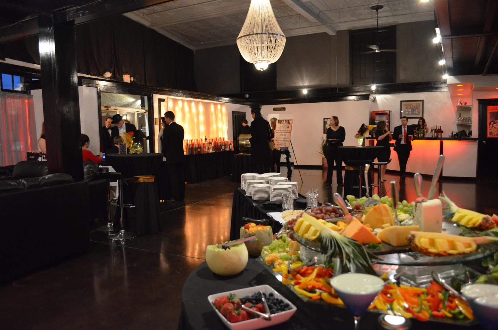 cocktail lounge gallery catered