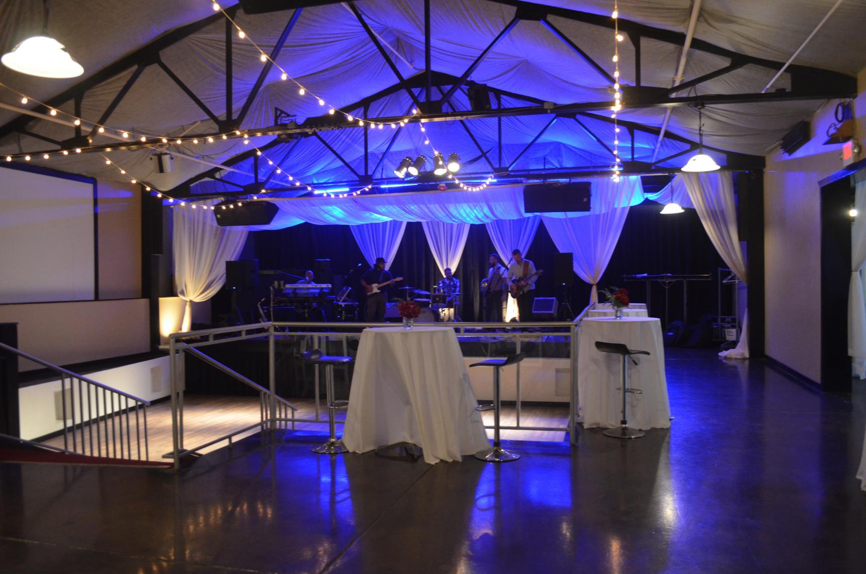 entertainment room dark
