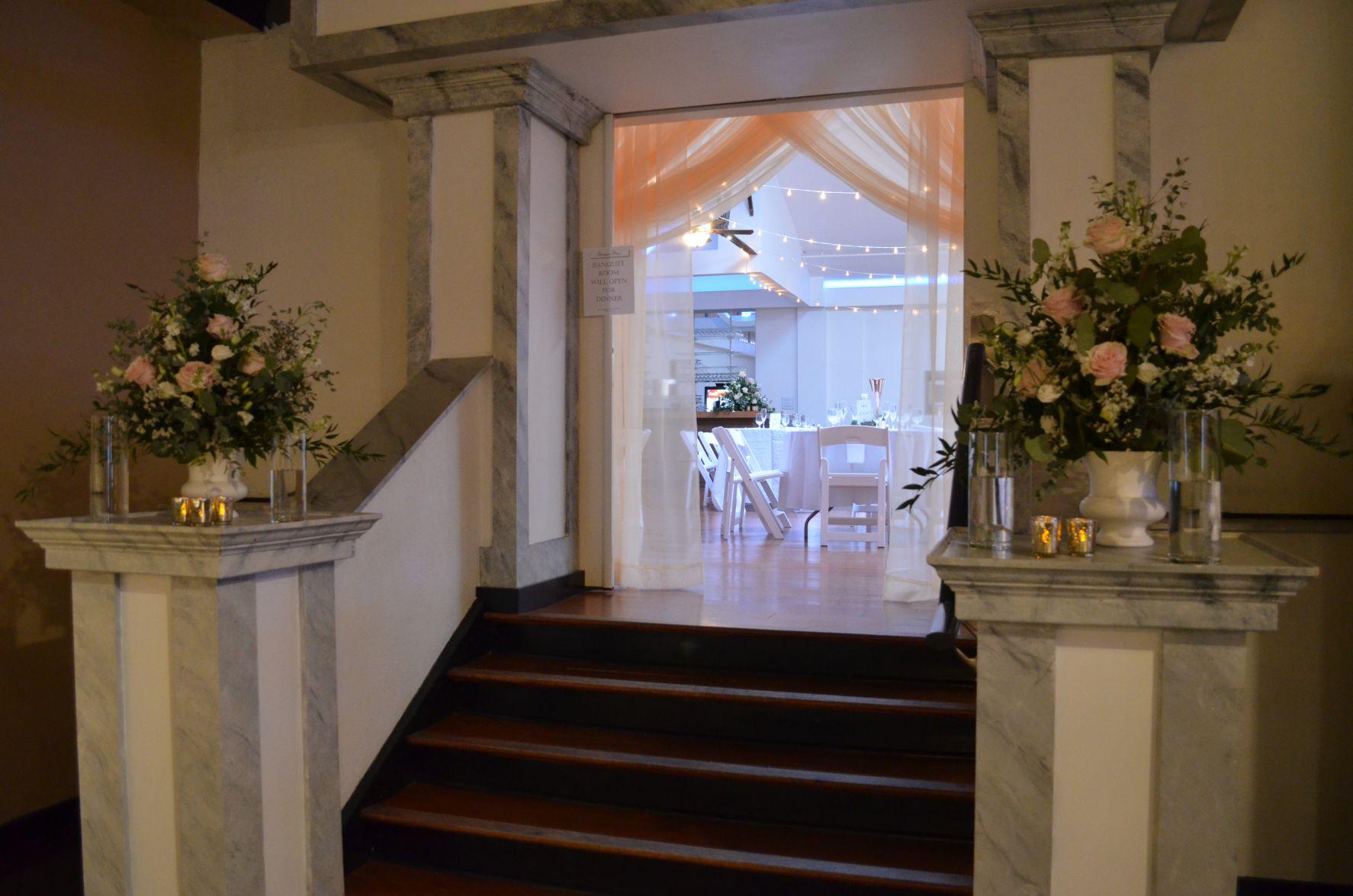 entertainment room entrance