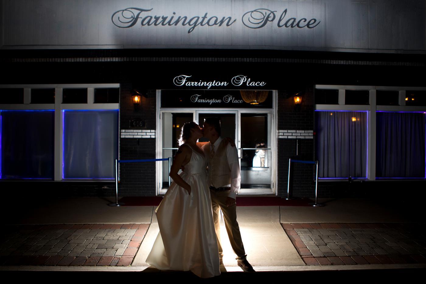 weddings front of farrington