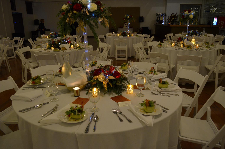 weddings table setup