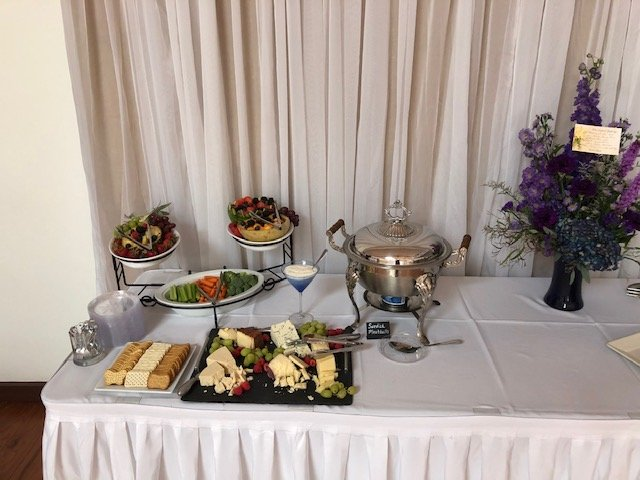 funeral reception catering