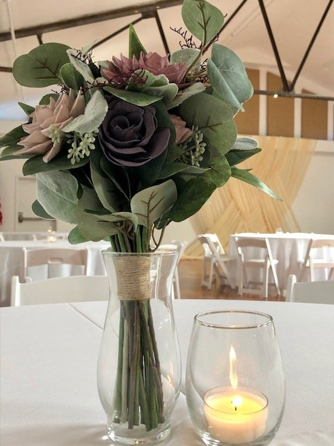 funeral reception flowers