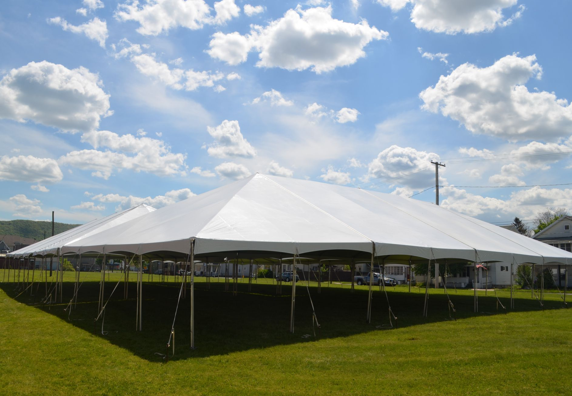 farrington place tent rentals blue sky